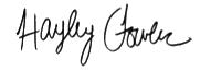 Editor's Signature