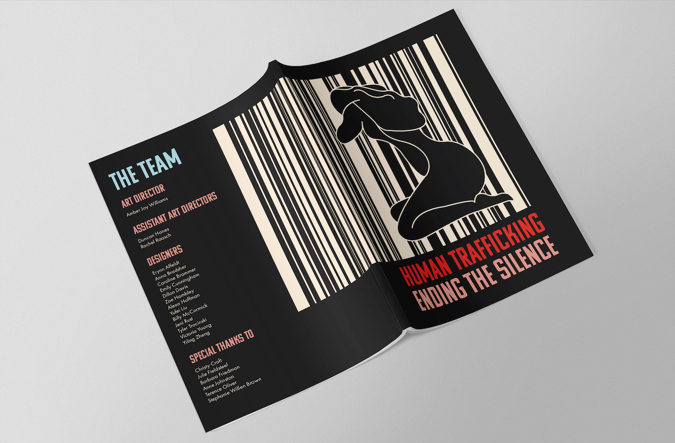 Human Trafficking Magazine